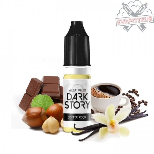 E liquide Coffee Rock - Dark Story