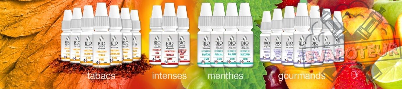 E-liquide Bio France