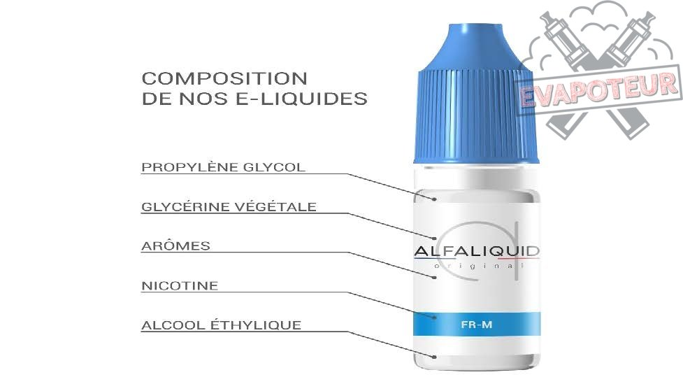E-liquide Alfaliquid
