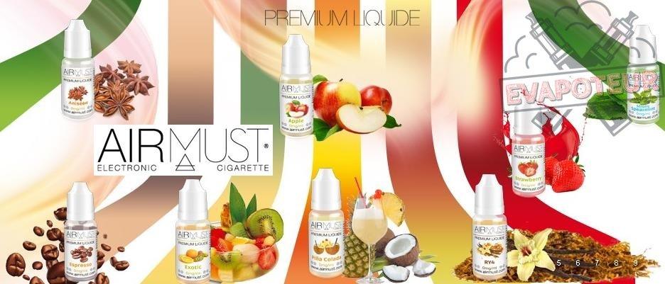 E-liquide Airmust