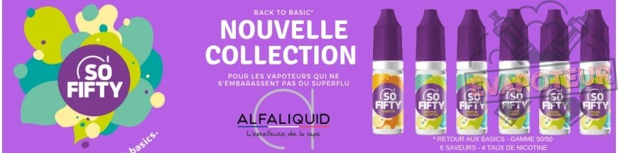 E-liquide Alfaliquid So Fifty