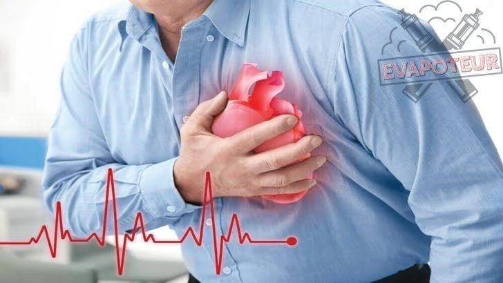La cigarette électronique est liée aux maladies cardio-vasculaires