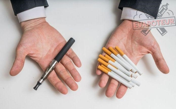 La cigarette électronique et la cigarette traditionnelle dans le même panier?