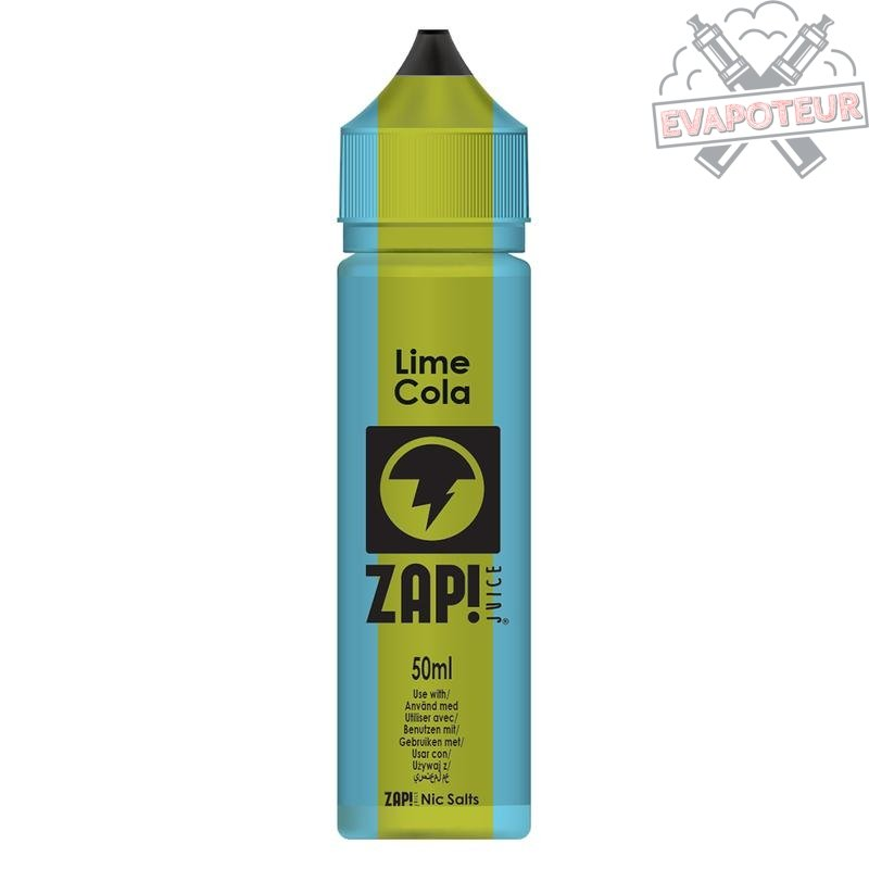 Lime Cola 50ml Zap Juice