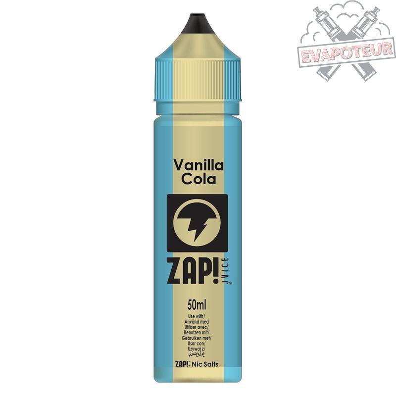 Vanilla Cola 50ml Zap Juice