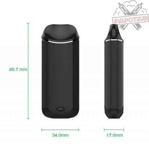 Dimensions Kit Nexus AIO - Vaporesso