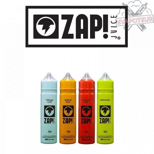 E-liquide Zap! Juice