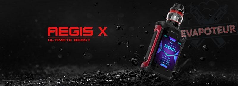 Kit AEGIS X - Geekvape