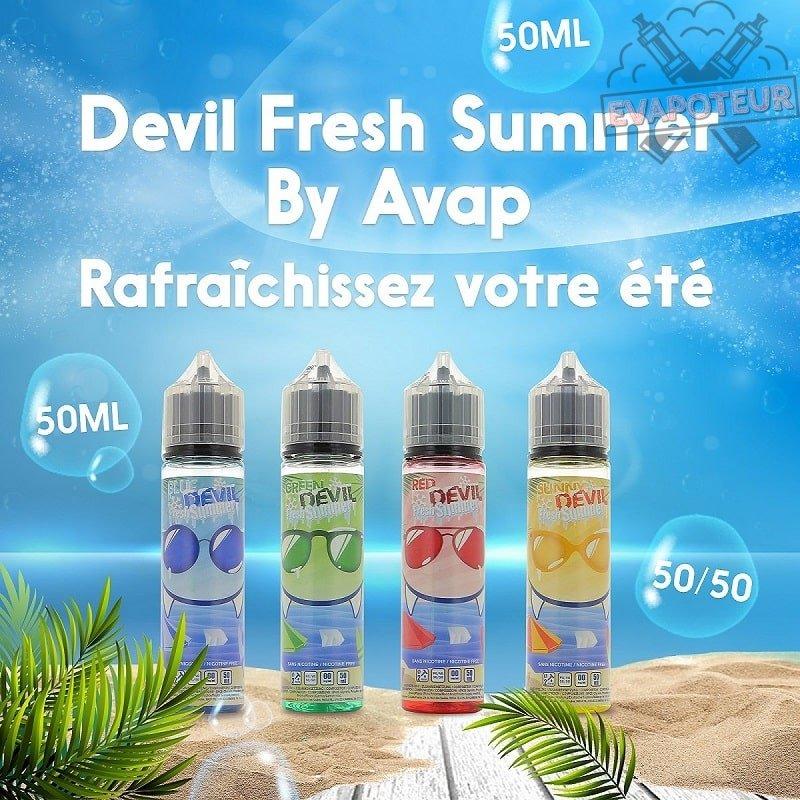 Les gammes e-liquide Avap