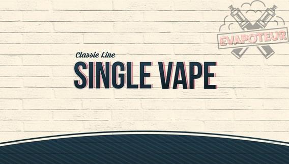 Single Vape Cloud Vapor