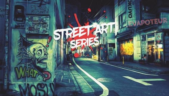 Street Art Cloud Vapor