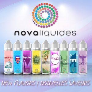 E-liquide Nova Liquides