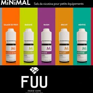 E-liquide Minimal - The Fuu