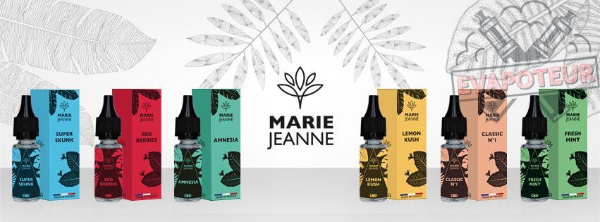E-liquide Marie-Jeanne CBD