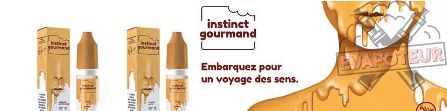 E-liquide Instinct Gourmand - Alfaliquid