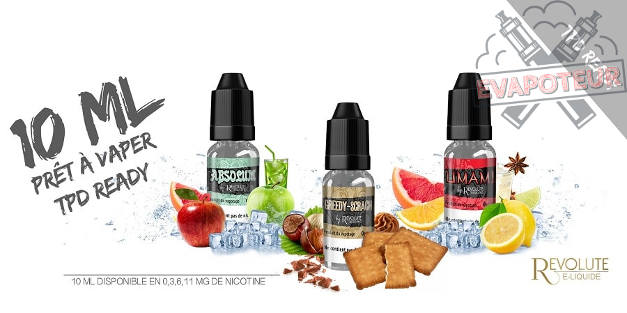 E-liquide Revolute