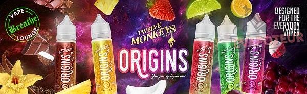 La gamme Origins Twelve Monkeys