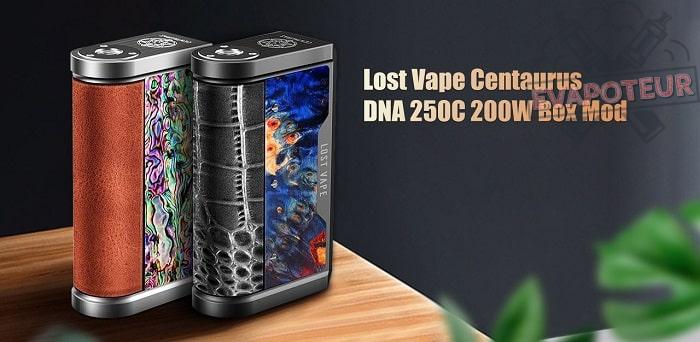 Box Centaurus DNA 250C Une «renaissance légendaire» selon Lost Vape