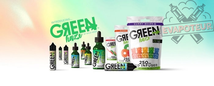 E-liquide Green Haze - CBD - Wild Hemp