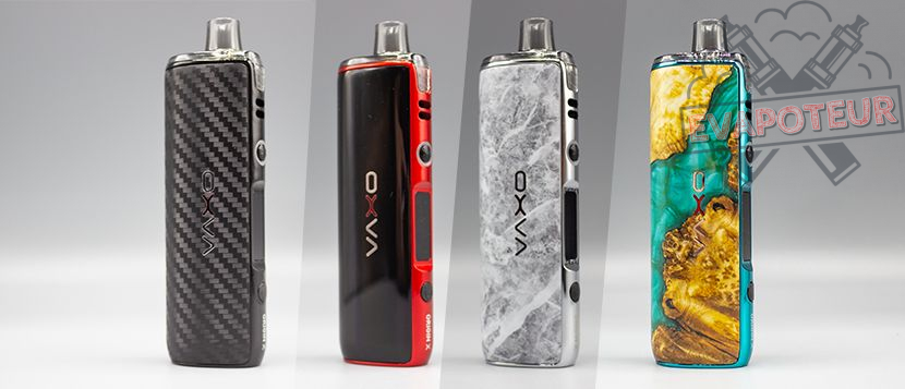 Design et construction Pod Origin X – Oxva