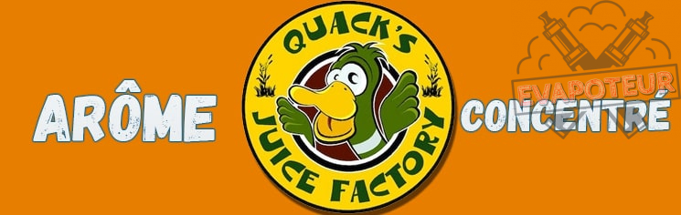 Arôme Concentré Goose Juice DIY quacks juice factory