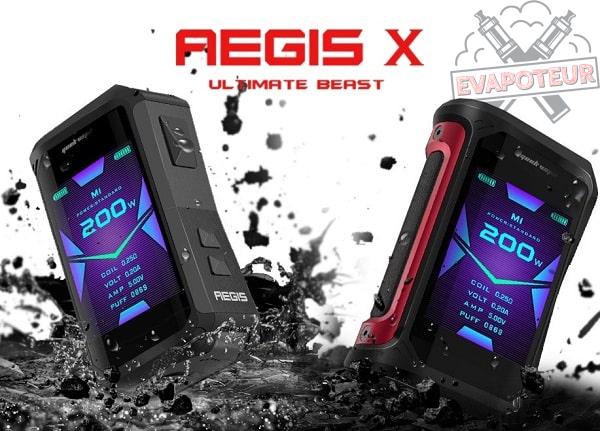 Box Aegis X - Geek Vape