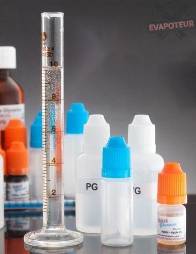 Les éléments nécessaires pour la création d'un e-liquide par soi-même