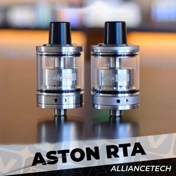 Atomiseur Aston RTA - AllianceTech Vapor
