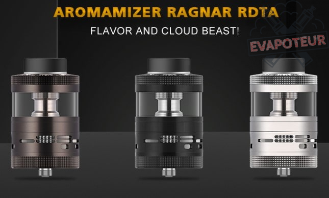 Atomiseur Aromamizer Ragnar RDTA - Steam Crave