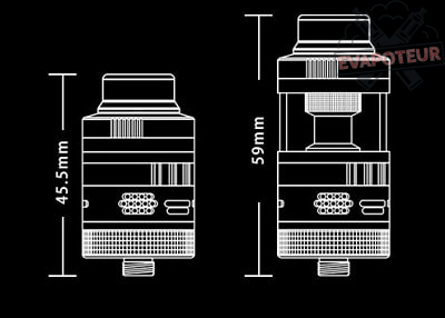 Atomiseur Aromamizer Supreme V3 RDTA - Steam Crave