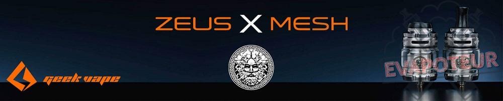 Atomiseur Zeus X Mesh RTA - GeekVape
