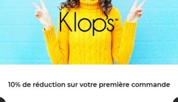 10% de réduction sur Klop's