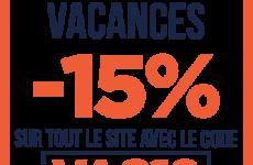 15 % de remise sur e-liquide-fr