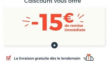 15€ de remise sur Cdiscount