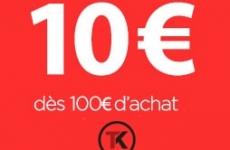 Remise 10 € dès 100 € d'achat sur Taklope